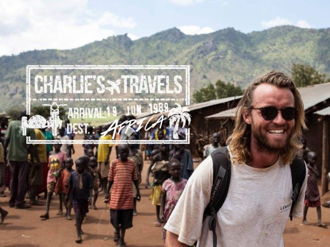 JIMMY NELSON IN KENYA WITH CHARLIE'S TRAVELS