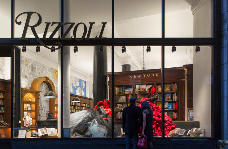 BOOK SIGNING @ RIZZOLI BOOKSTORE