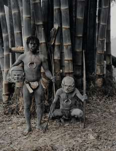 Asaro Mudmen, Eastern Highlands, Papua New Guinea, 2010