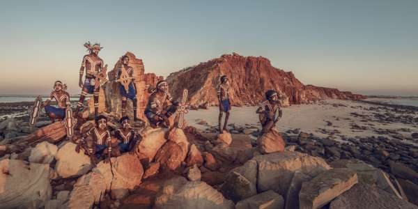 Bardi, Cape Leveque, Derby, The Kimberley, Australia, 2018