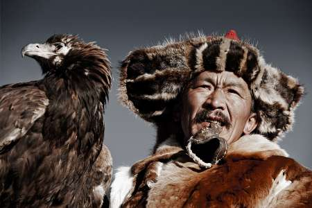 Khairatkhan, the eagle Hunter, Mongolia, 2011