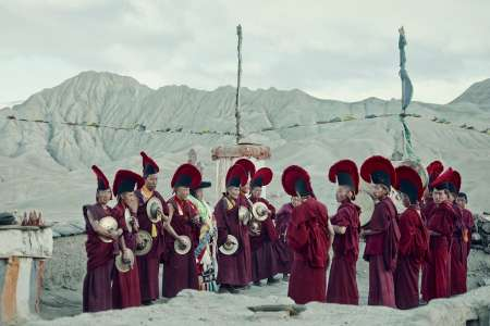 Tiji Festival, Lo Mangthang Village, Upper Mustang, Kingdom of Lo, Nepal, 2011