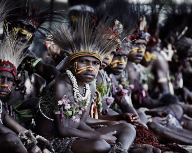 Nikum Nusu Tribe, Goroka, Eastern Highlands
