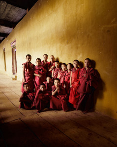 Monks in Monastery